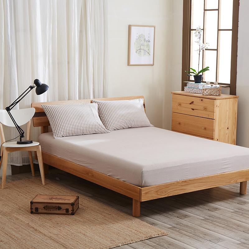 7 Piece 100% Linen Bedding Sets Duvet Cover Pillow Case