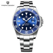 2020 PAGANI Дизайн 100 м водонепроницаемые часы для мужчин бизнес роскошные механические модные Rolexable часы для мужчин Relogio Masculino(Китай)