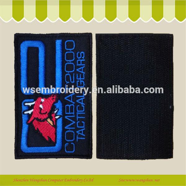 El Diseño Del Bordado Parche De Velcro Para Accesorios De La Ropa Buy Parche De Velcro Product On Alibaba Com