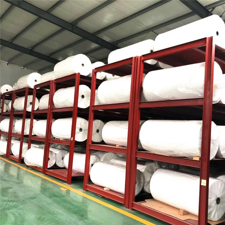 Оптовая продажа, прокладочная ткань серого цвета из промышленного полиэстера и хлопка