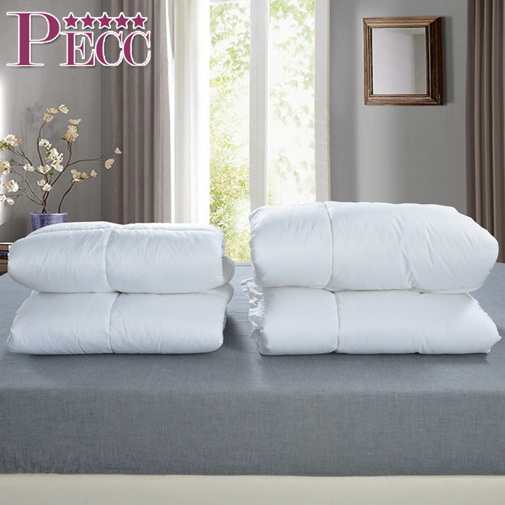 New Products Hotel Plain White Quilt Luxury Feather Duvet