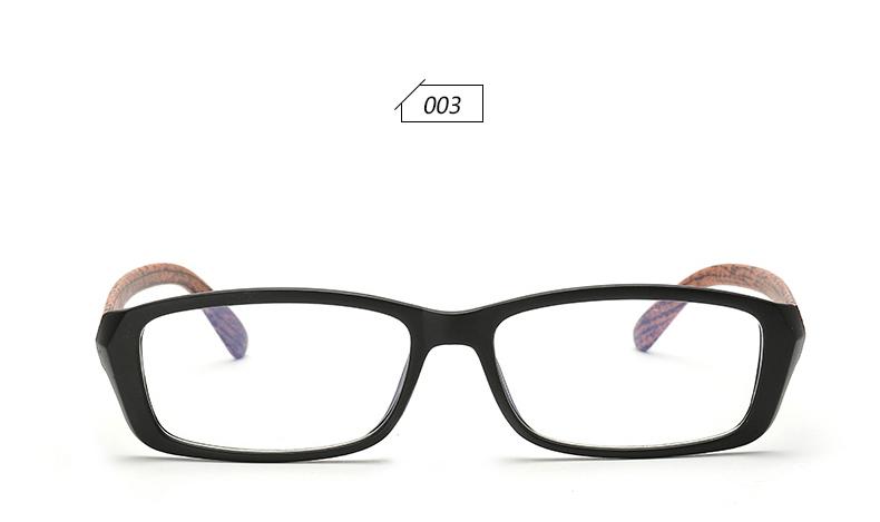 54124b5ba55 Wholesale- TRIOO High Quality Elegant Wood Men Eyeglasses Women ...