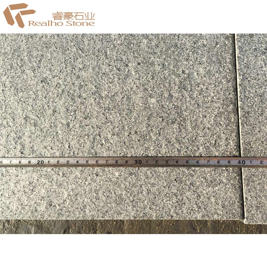 Огненная панда темно-серая гранитная плитка для дорожек