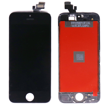 Mobile Phone Black Color Displays LCD With Digitizer Touch Screen Assembly For iPhone 5