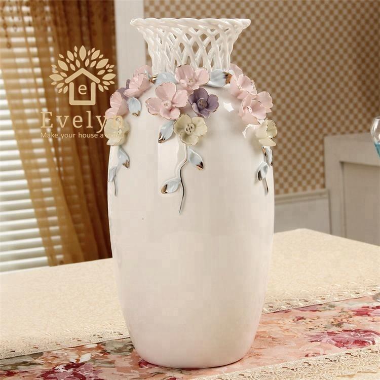 Домашний сад китайские декоративные керамические фарфоровые красивые ручной работы цветочные вазы