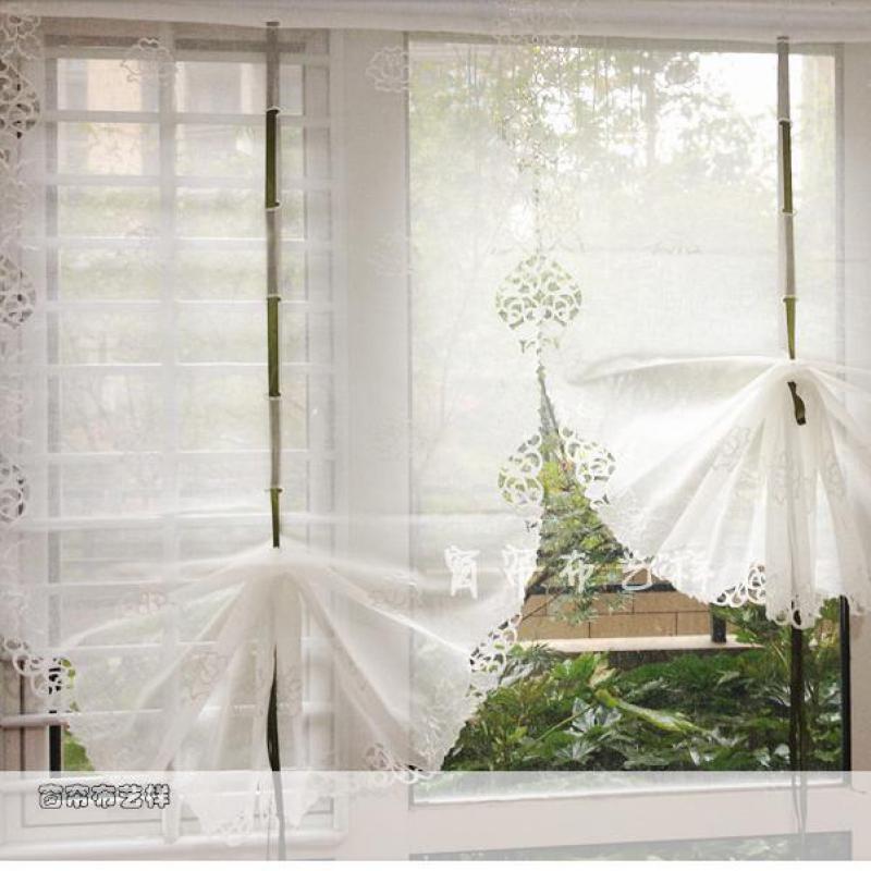 Beautiful Kitchen Curtains: Aliexpress.com : Buy Beautiful White Balloon Curtains Yarn
