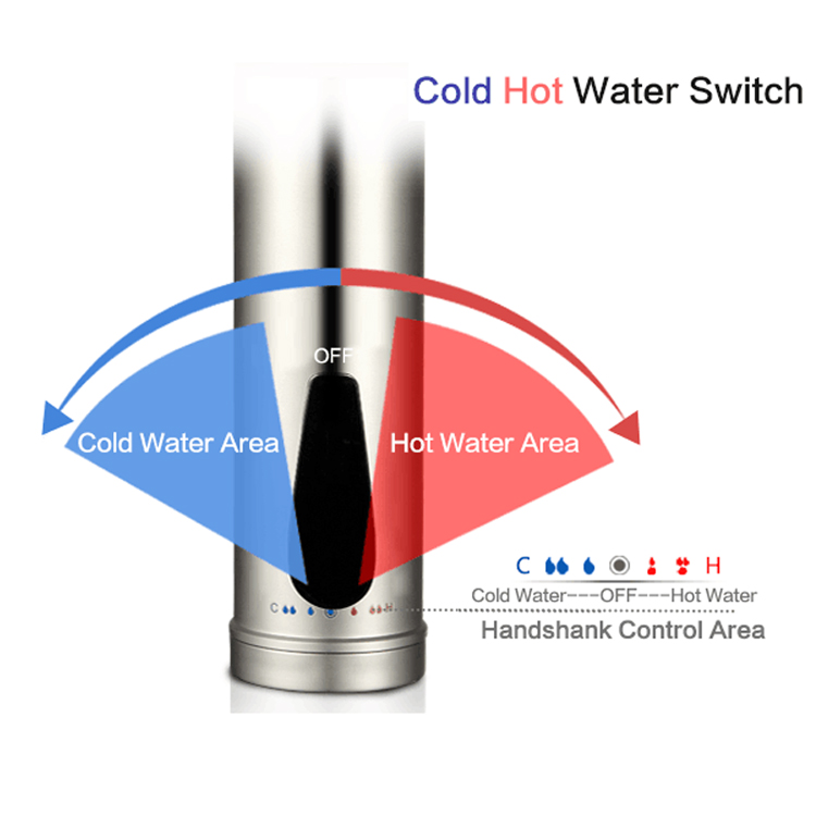 kitchen sink automatic thermostat instant hot water tap