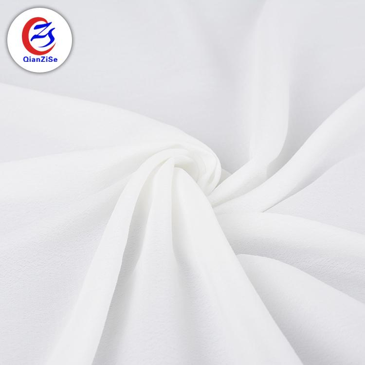 سعر جيد مخصص كريب البوليستر رخيصة الشيفون قماش أبيض لفستان Buy قماش أبيض قماش شيفون أبيض قماش فستان أبيض Product On Alibaba Com