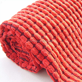 Popular softextile Microfiber corduroy fabric for sofa curtain garments