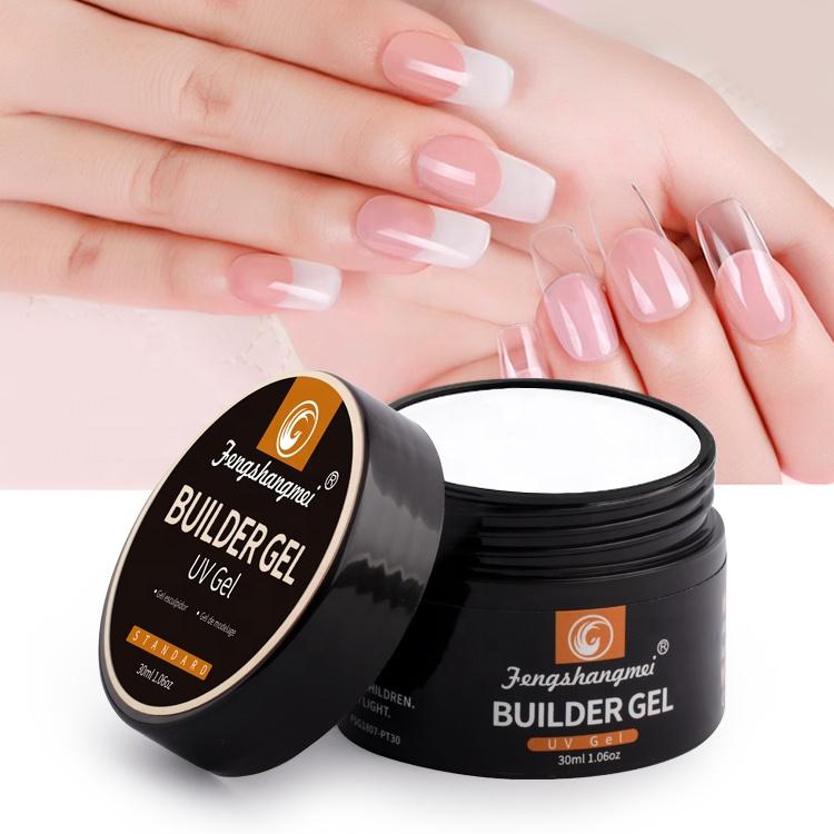 fengshangmei nail clear uv builder gel nail gel builder soak off uv extension gel