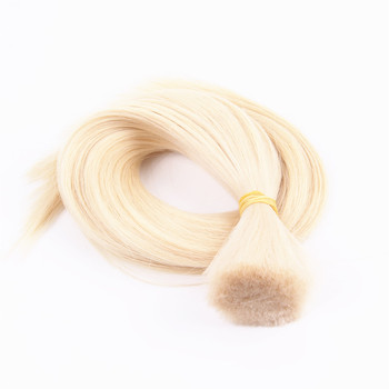 Top Quality Full Cuticle Russian Slavic Blond Human Hair Braiding Bulk Hair