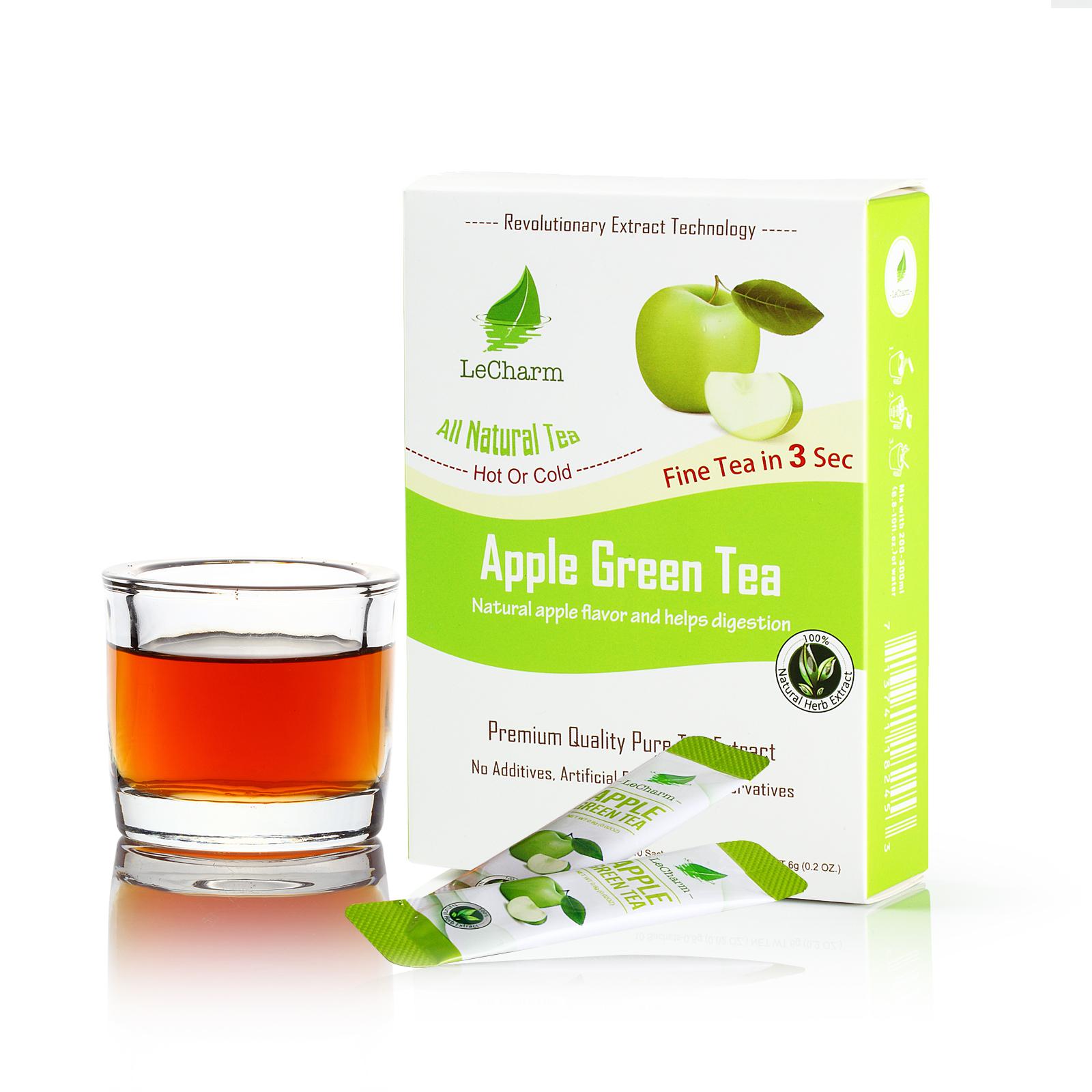 Fruit Flavour Apple Tea Wholesale Apple Green Tea Powder - 4uTea | 4uTea.com