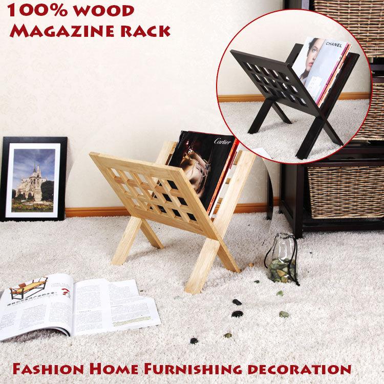 Aliexpress.com : Buy 100% Solid Wood Magazine Racks