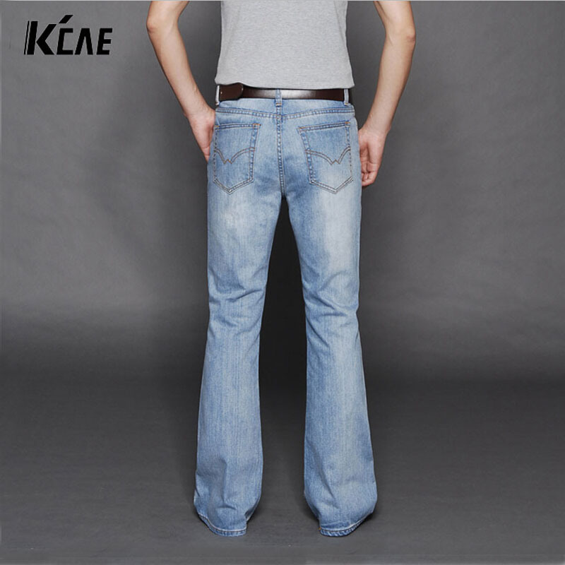 Men S Denim Bell Bottoms 115