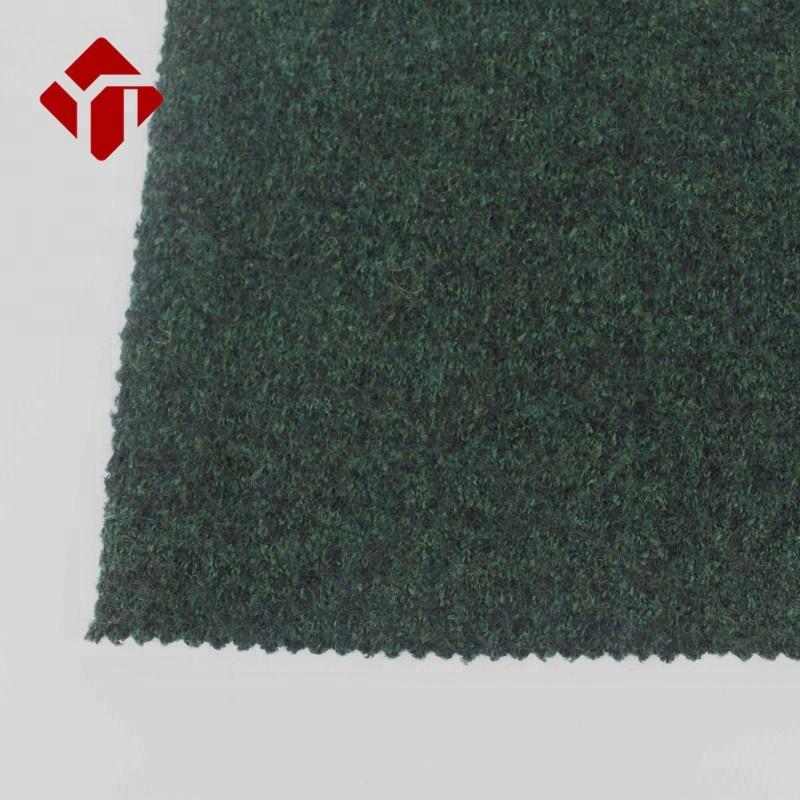 Мельница продукт низкая цена меринос вареная шерсть Шерстяная трикотажная ткань для зимнего женского пальто