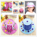 Fboon DIY Kits Foam Topee Stickers Hat Self Adhesive 3D Puzzle Jigsaw Kindergarten Art Crafts Educational