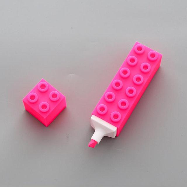 Детские канцелярские товары, Яркая Цветная флуоресцентная ручка, маркерная ручка