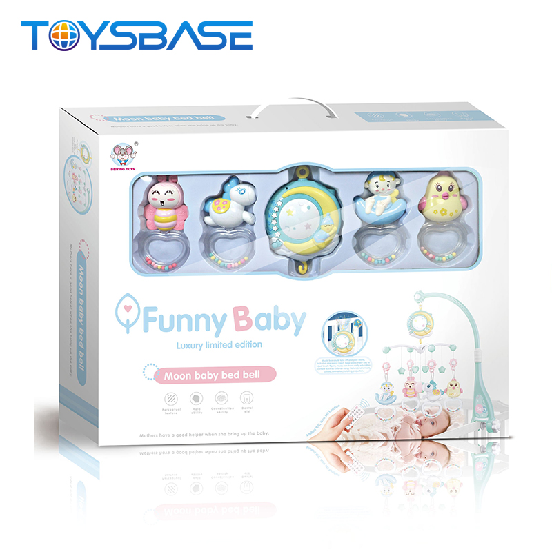 Best Sellers 2019 Baby Musical Mobile Toys,Baby Plastic Rattle