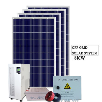 GSO Green energy solar product off grid solar panel kit system for 8KW
