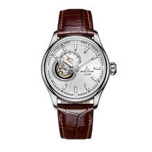 Мужские наручные часы Reef Tiger/RT, автоматические механические часы с синим турбийоном, RGA1639(Китай)