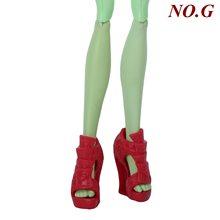 Модная Высококачественная кукольная обувь для кукол Monster high, милая праздничная одежда для свиданий, смешанные туфли на высоком каблуке, бот...(Китай)