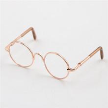 401ce4e58fc7ad 1 pcs Poupée Accessoires Ronde En Forme de Rond Lunettes Verres Colorés  lunettes de Soleil Adapté Pour BJD Blyth Comme Pour 18 P..
