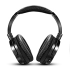 Headphone Audio Active Noise Cancelling Headset Wired HiFi With Mic Over-Ear Noise Isolation Headphone With Air Flight Audio Jack Converter