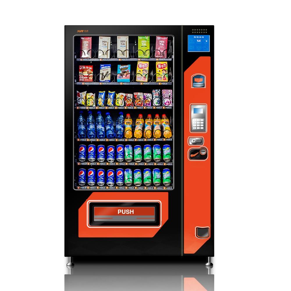 Автомат для продажи закусок, напитков и комбинированный торговый автомат