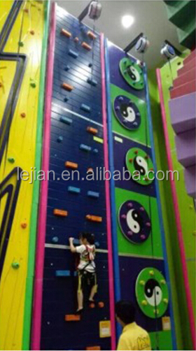 Outdoor Playground Kids Climbing Wall Amusement Equipment