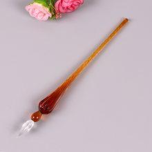 1 шт. Модная креативная стеклянная ручка, ручка для воды, деловая, школьная, офисная, парная, подарок на день Святого Валентина(Китай)
