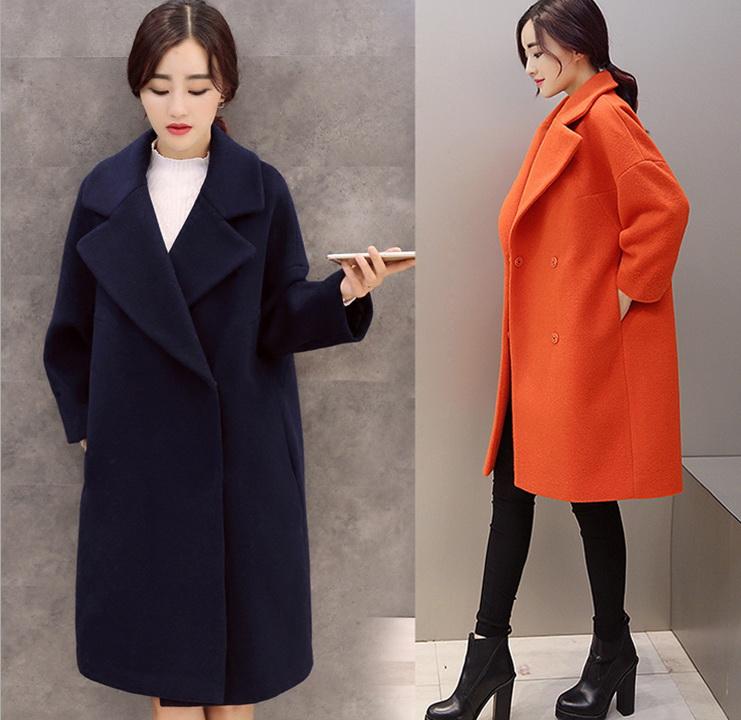 549a2c5e75e Long Navy Wool Coat - Coat Nj