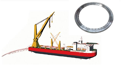 High Stability Ferris wheel Slewing Ring Swing Bearing In Tower Crane