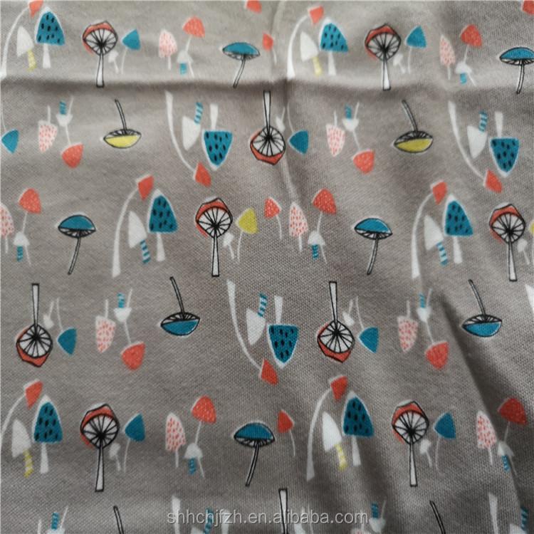 100% Cotton Printed Fabric Custom Printed Fabrics Printed Baby Clothes Fabric