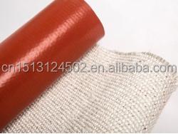 Высокотемпературная односторонняя Стекловолоконная ткань с силиконовым покрытием по заводской цене