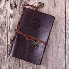 Блокнот на спирали, дневник, книга, винтажные Пираты; Якоря из искусственной кожи, записная книжка, сменный Рождественский подарок, журнал п...(Китай)
