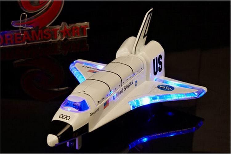 shuttle giocattolo  Acquista Spazio Giocattoli Elettronici Shuttle Columbia Modello NASA ...