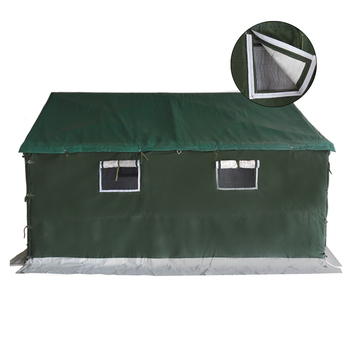 Factory supply used military style relief canvas wall tent
