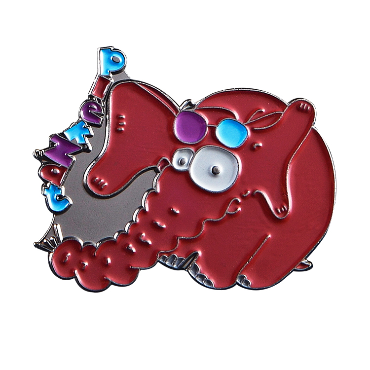 China manufacturers wholesale custom metal transparent soft hard enamel pin badge