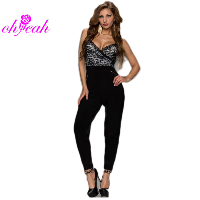 48d1b0230e1 Ohyeah Elegant Jumpsuit Sleeveless High Quality Plus Size .