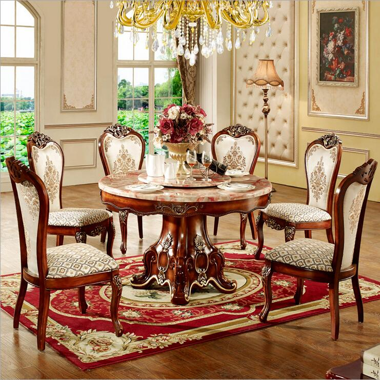 Luxury Dining Room Furniture: Modern Style Italian Dining Table, 100% Solid Wood Italy