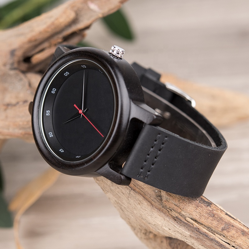 DODO DEER 2019 Unisex Leather Belt Wooden Watch OEM Fashion Custom Watch with Numbers Dropshipping