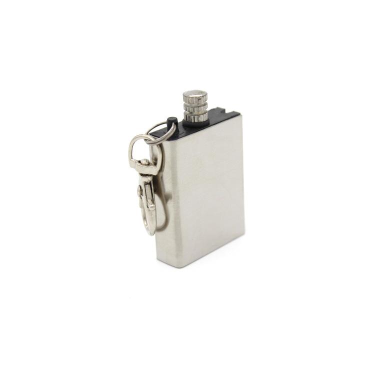 Перманентная металлическая зажигалка для кемпинга и выживания, Зажигалка из кремня, инструмент для запуска огня