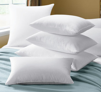 Square Pillow Form Insert Cheap Wholesale Feather Pillow