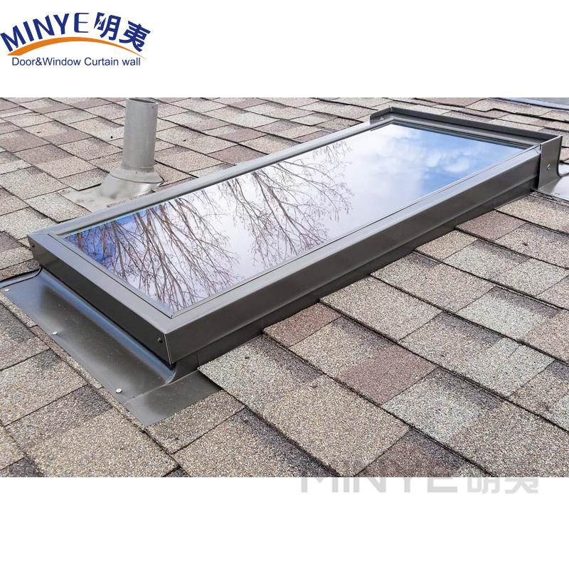 Алюминиевый профиль, алюминиевое центральное открытое окно для крыши