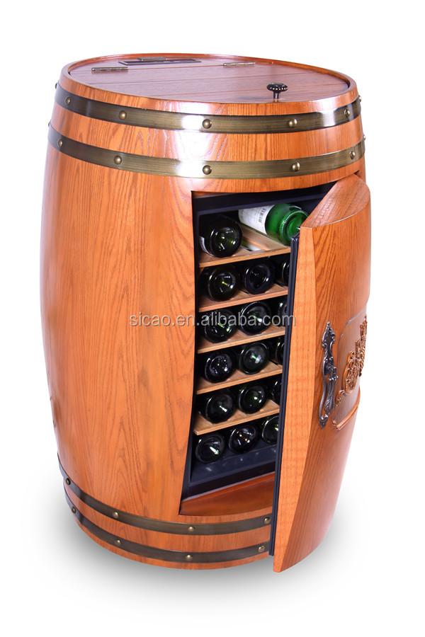 Wine Barrel Furniture Wine Beer Barrel Fridge Wood