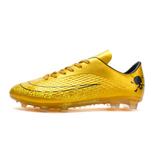 2d803dd97790 BomKinta Men's Soccer Shoes Hard Court Futsal Football Boots Turf  Professional Trainers High Quality Sneakers 2018