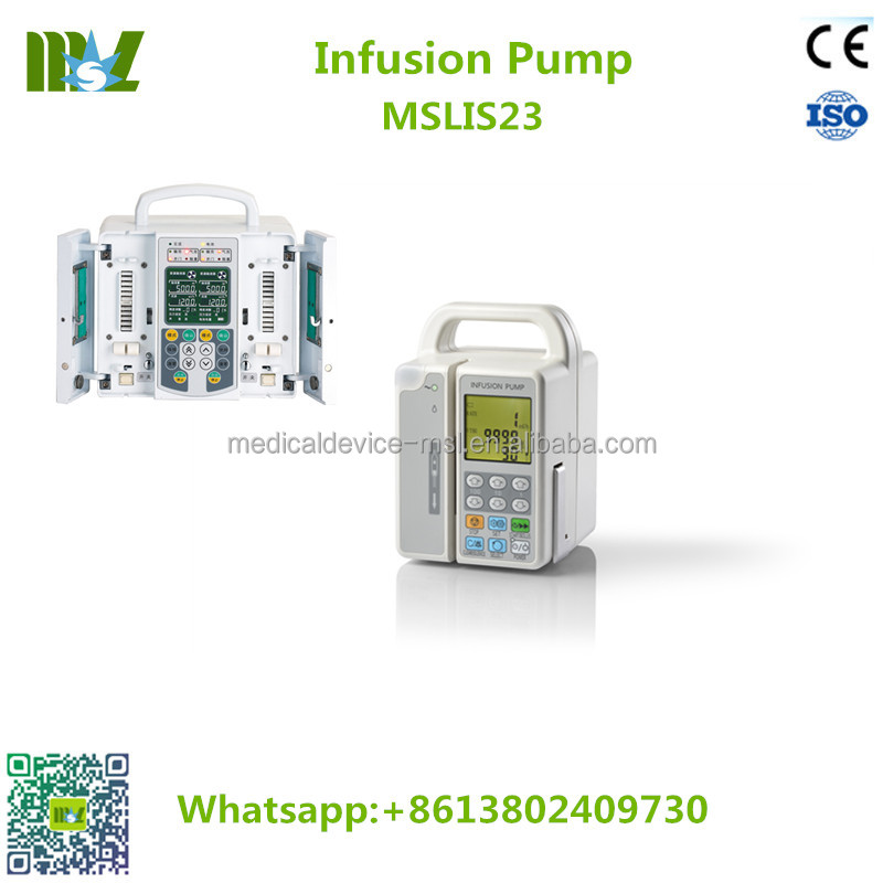Ветеринарный инфузионный насос MSLIS20, портативный инфузионный насос для ветеринарного применения