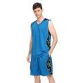 2016 Basketball Clothes Men Set Custom Sleeveless and Short Printed Jersey Basketball Game Female Basketball Uniforms