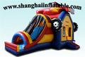 PVC 0 55mm inflatable playground amusement playground car bounce house indoor playground inflatable car castle