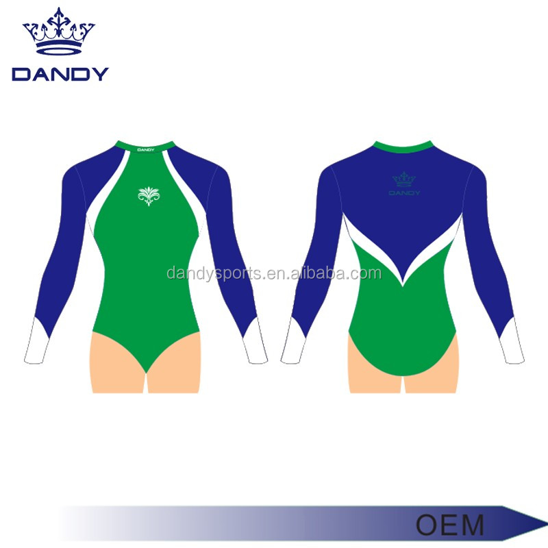 Competition artistic gymnastic leotard ,girls gymnastic leotards with rhinestones